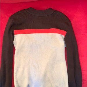 Turtle neck shirt sweater